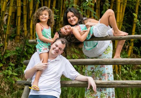 FAMÍLIA de Luciana e Família