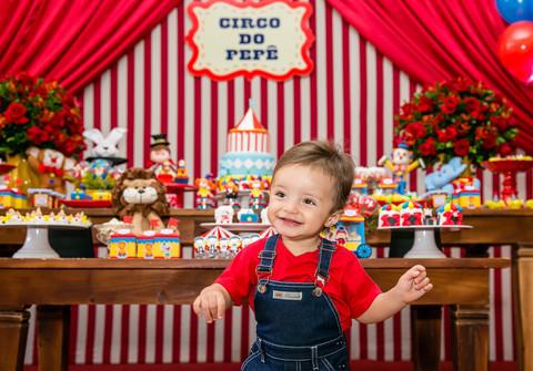 FESTA INFANTIL de Circo do Pepê