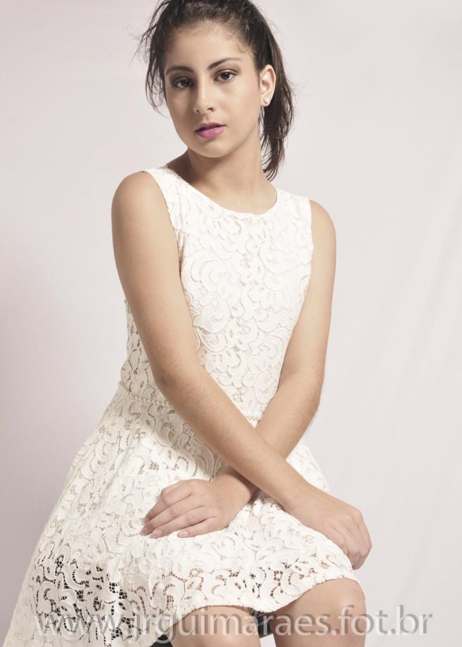 modelo foto de vestido
