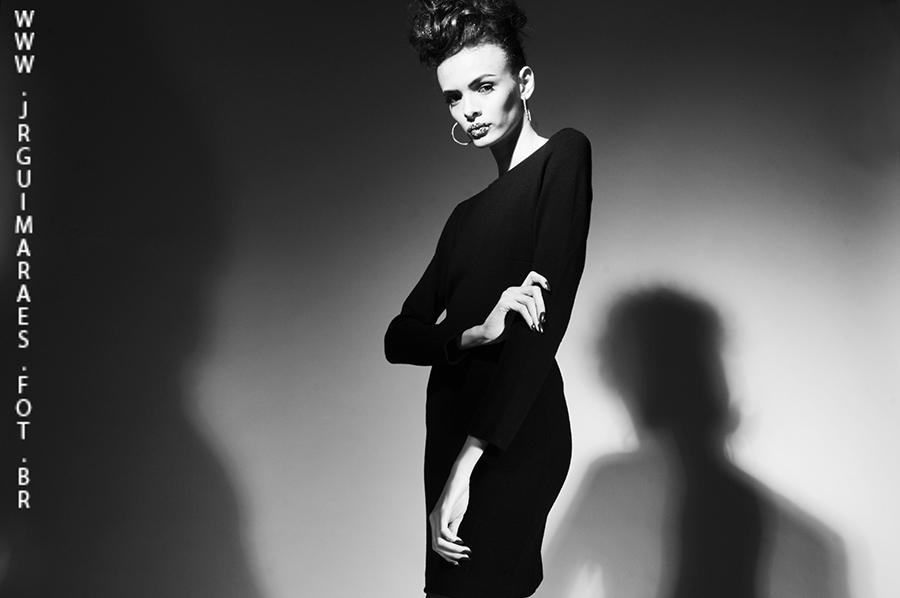 fotografia de moda preto e branco