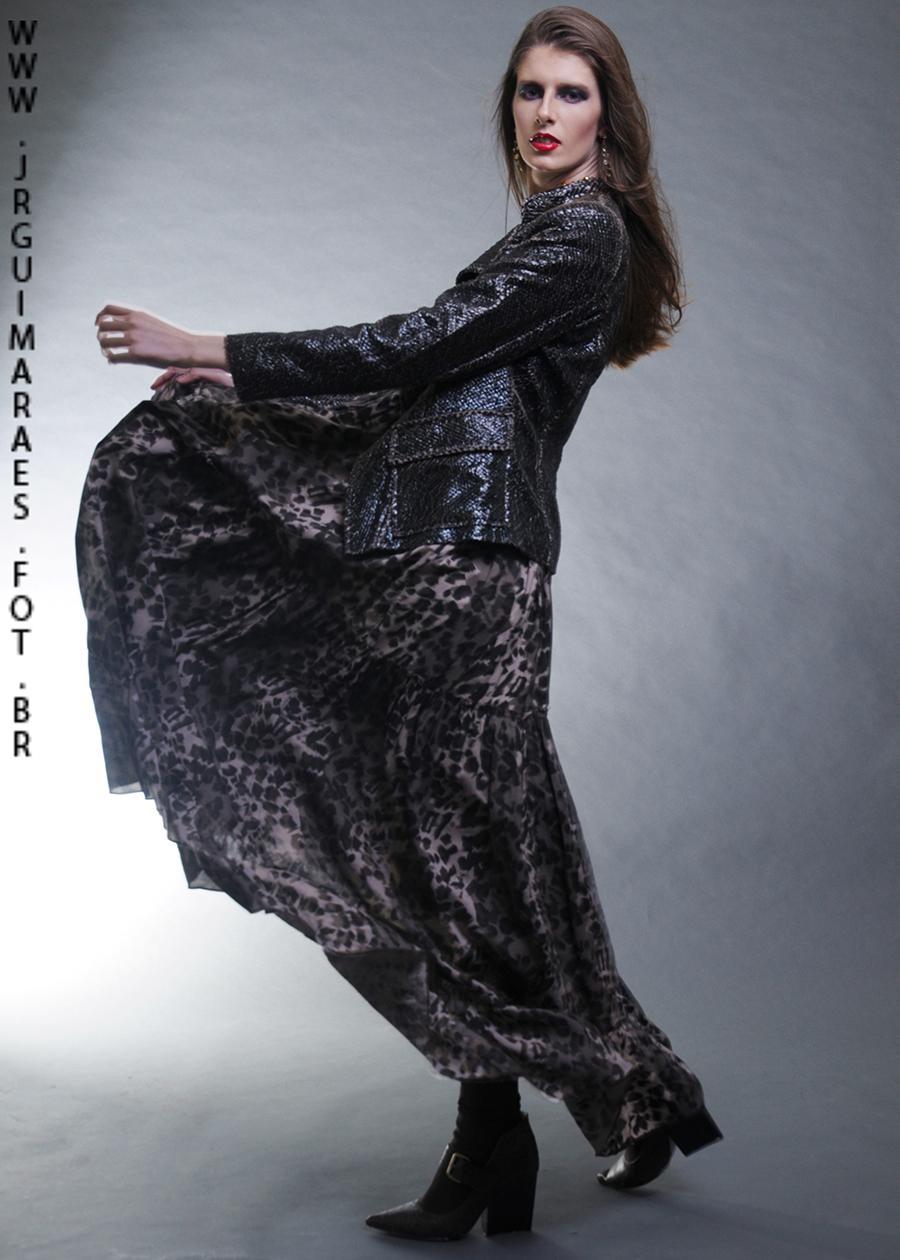 fotografia de moda em movimento