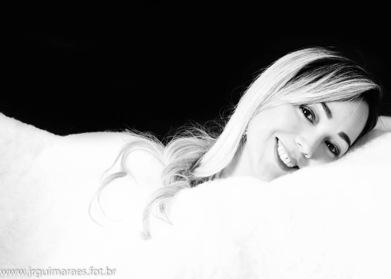 ensaio fotografico de mulher na drean plastic