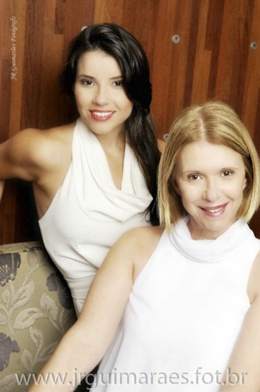fotos mae e filha book
