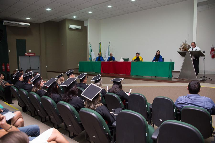 Foto de Colação de grau (Gestão Ambiental - IFRN)