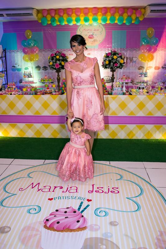 foto de aniversario mãe e filha