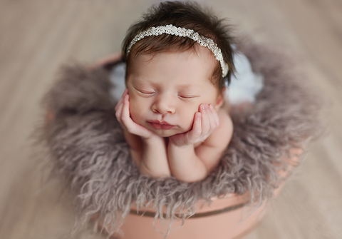 ensaio newborn de Ensaio Newborn da Barbara