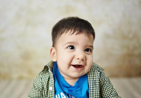 bebês até 12 meses  no estudio de Ensaio de Acompanhamento do Bê - 5 meses