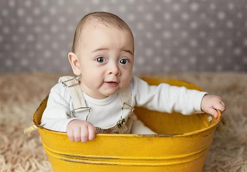 bebês até 12 meses  no estudio de Ensaio do Leo - 6 meses