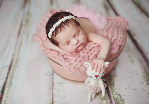 ensaio newborn de Book Newborn da Carolina
