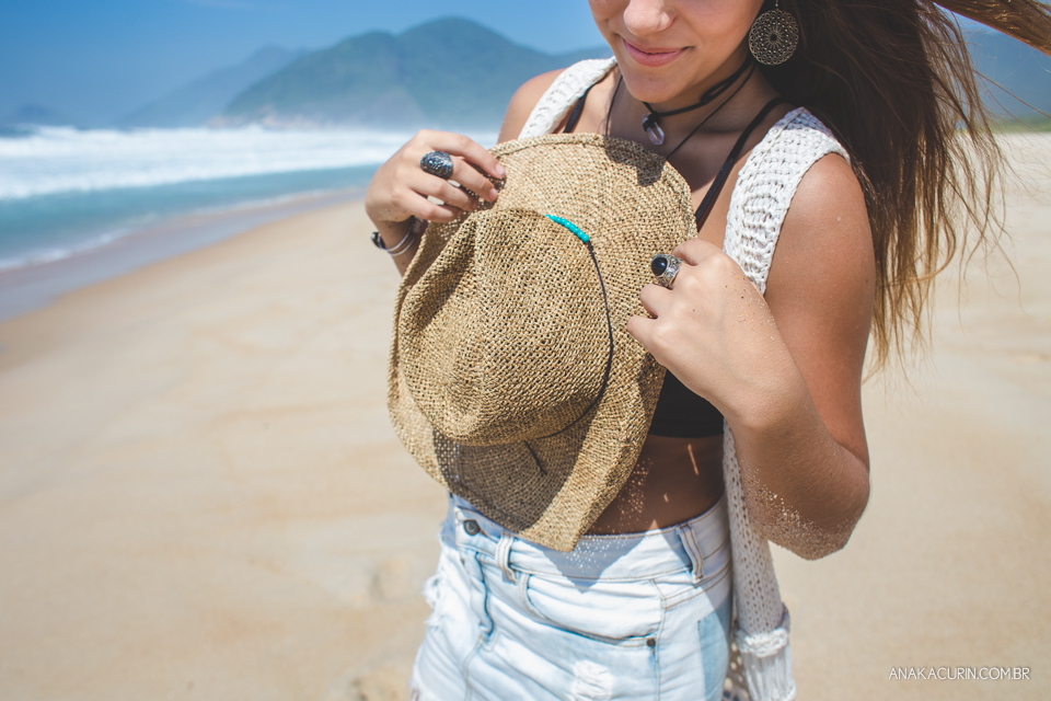 Ensaio fotográfico no estilo lifestyle de Giulia, uma menina de 15 anos, no Rio de Janeiro
