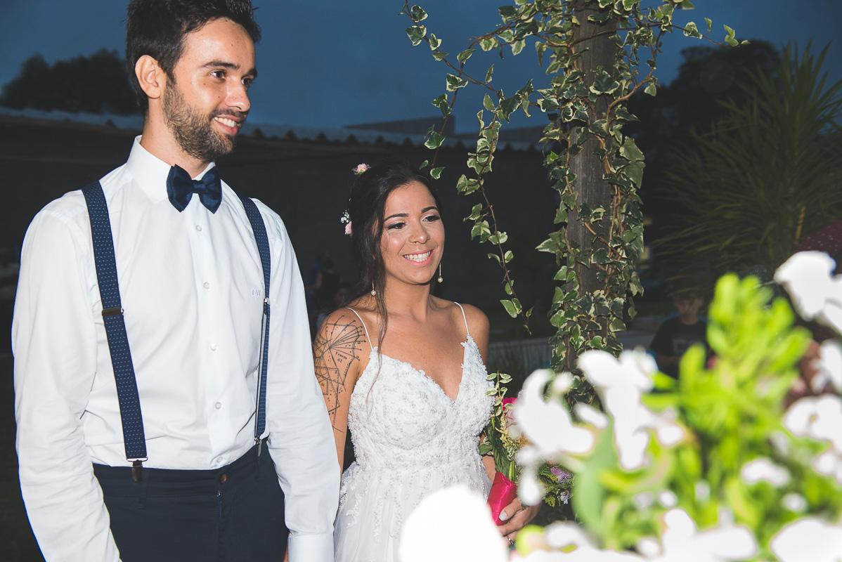 Lindo sorriso dos noivos durante a cerimônia de casamento.  Foto por Marco Moscarelli Fotógrafo