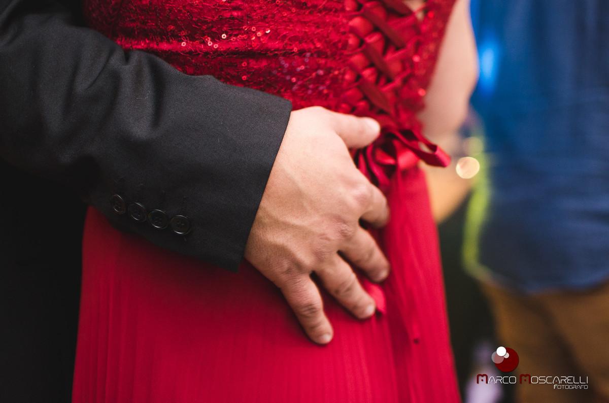 Detalhes do baile de formatura na recepção dos formandos em direito. Foto por Marco Moscarelli