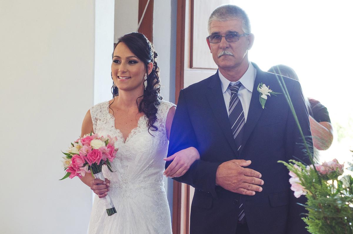 Entrada da noiva.