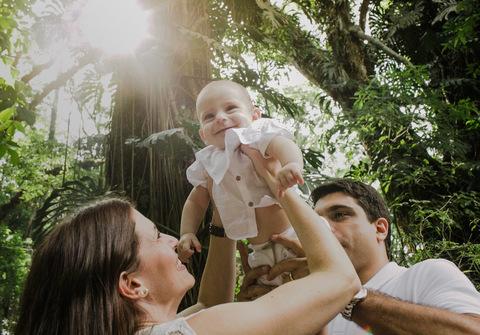 Família, Crianças e Bebês de Batizado Bento
