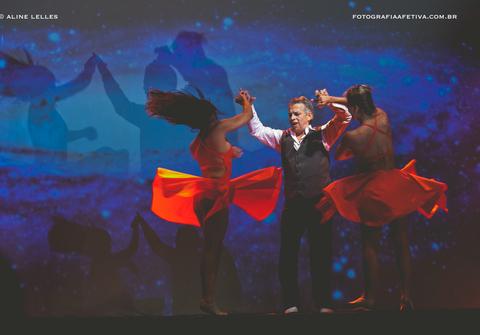 Dança de Um Pouco de Tudo e Muito de Mim | Um espetáculo de Jaime Arôxa | Fotografias de Aline Lelles