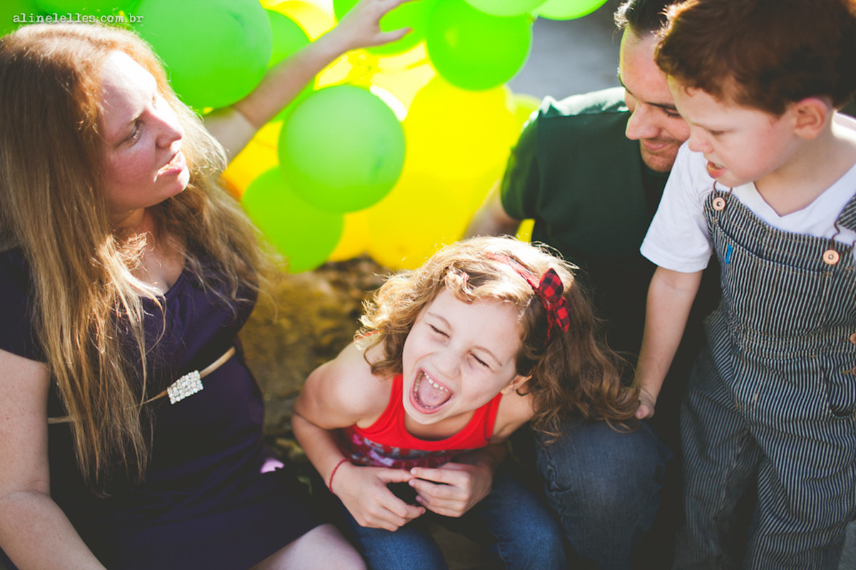 Retratos de Família: Ah, esse quarteto colorido !