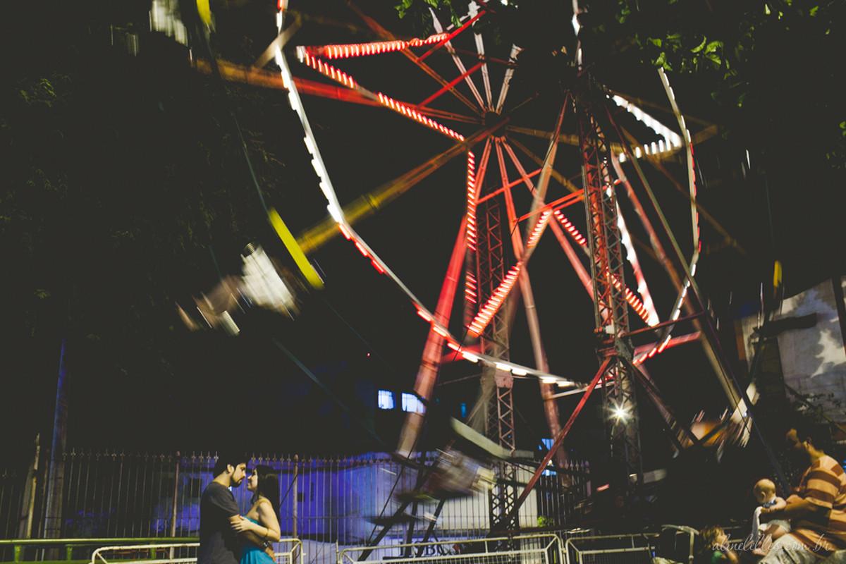 Amor e Diversão! | Ensaio de Casal Rio de Janeiro | Ana Paula e Daniel | Parque de Diversões