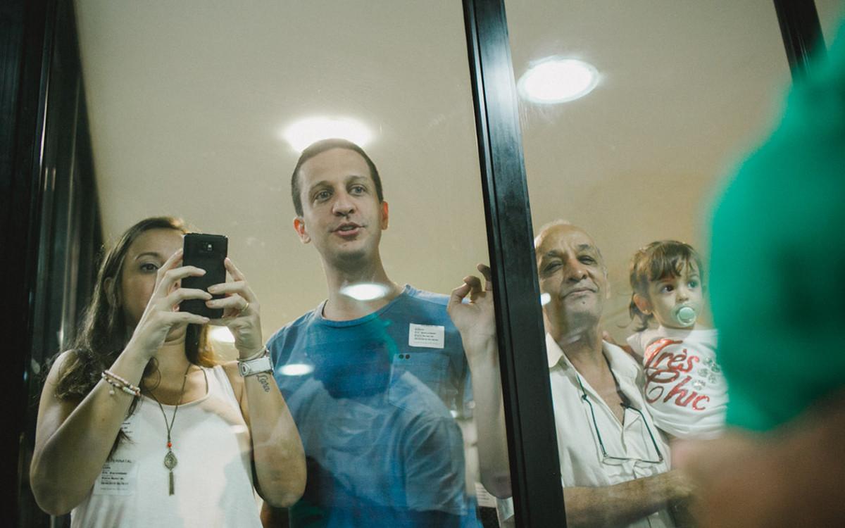 Já que é dia dos pais… | Elaine, Mariano e João Gabriel | Fotografia de Parto Rio de Janeiro