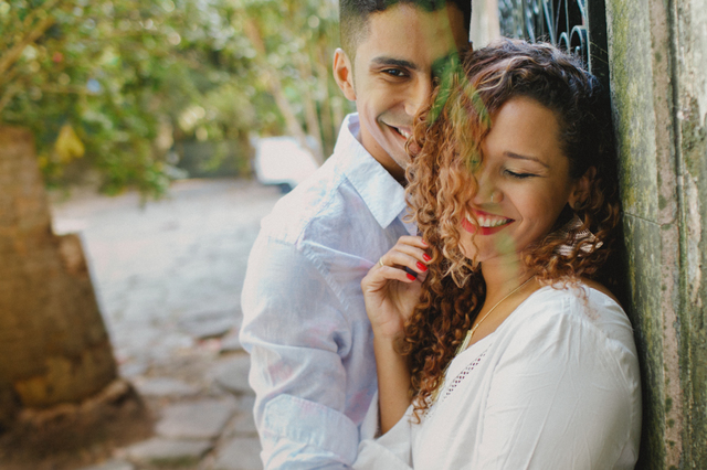 Ensaio de Casal de Daniela Wergles e Fabio Pergentino