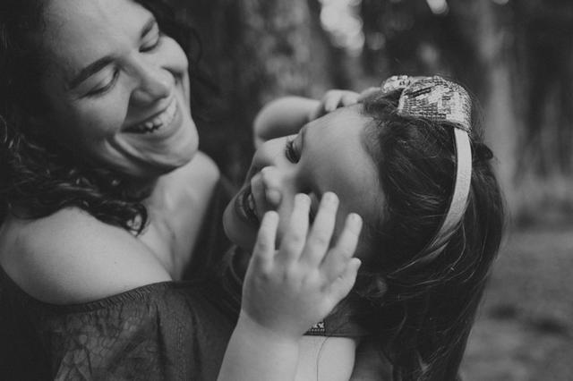Fotografia de Família de Amanda e Amélie