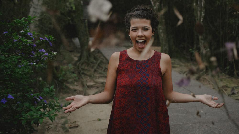 """Nathalia Lovati durante o ensaio fotográfico """"Só para fotógrafos"""" com Aline Lelles."""