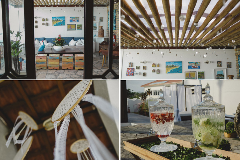 Wedding Decoration | Fotografia de Casamento | (Re) Casamento Camila e Bruno | Pousada A Capela - Arembepe - BA