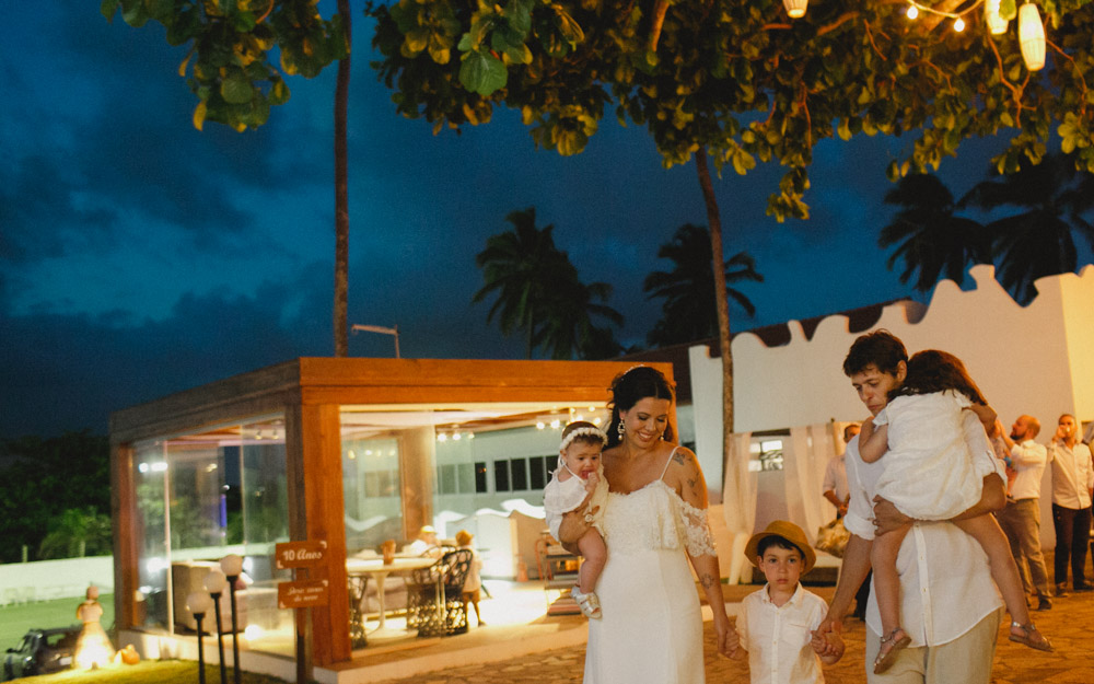 Wedding | Cerimônia de Casamento | Fotografia de Casamento | (Re) Casamento - Camila e Bruno - Pousada A Capela - Arembepe - BA