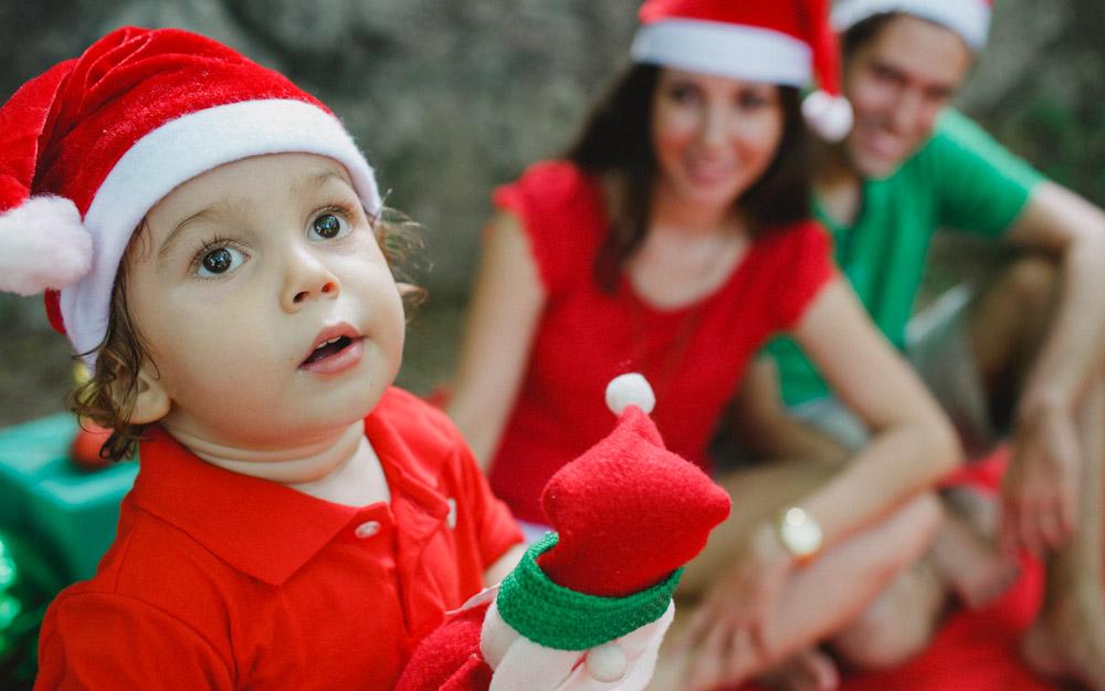 Papai Noel | Natal | Dezembro | Ensaio Natalino | Ensaio de Natal | Sessão de Fotos | Ensaio Externo