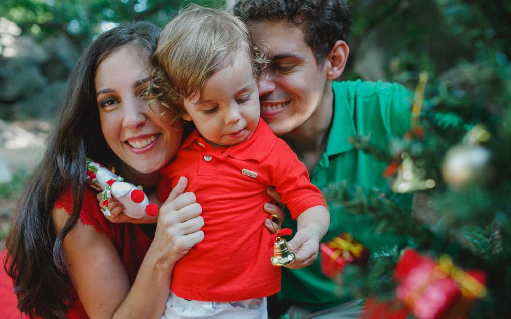 Ensaio Externo | Ensaio Natalino | Fotografia de Criança | Fotografia de Natal | Fotografia de Família