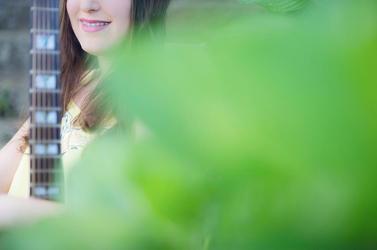 ensaio individual - bianca - mulher - são bento do sul - parque - chroma fotografia