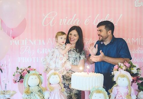 Aniversários de Ana Luísa - 1 Ano