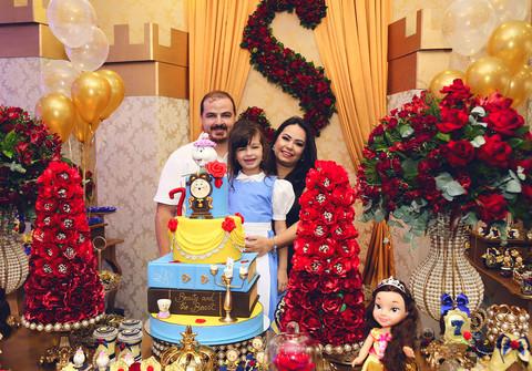 Aniversários de Sofia - 7 anos