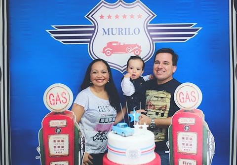 Aniversários de Murilo - 1 Ano