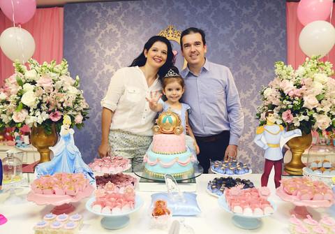 Aniversários de Maria Vitória - 4 anos