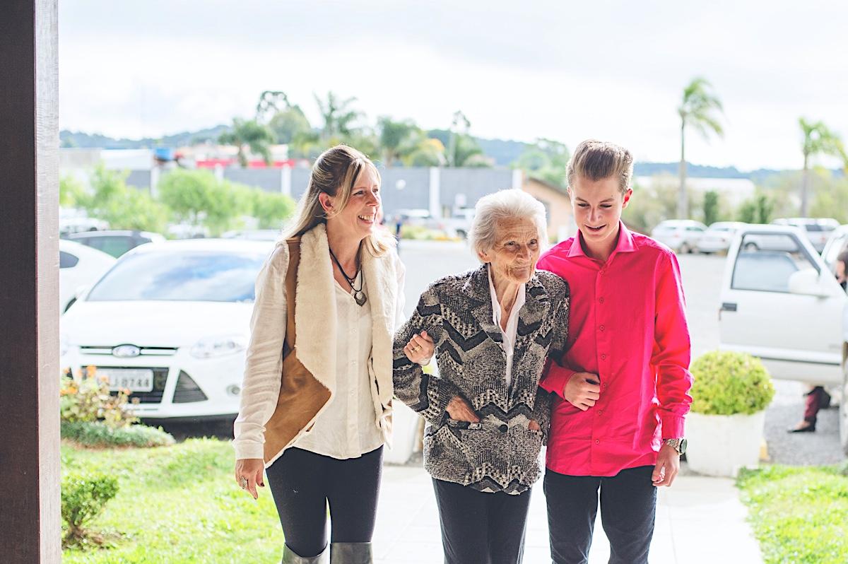 aniversário - 90 anos - dona rosa - sociedade guarani - são bento do sul - chroma fotografia