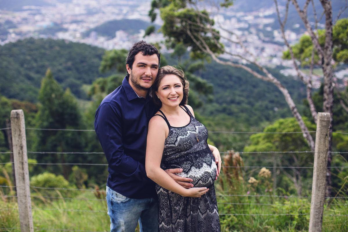 ensaio de gestante - Gabriela e João - Jaraguá do Sul - chroma fotografia