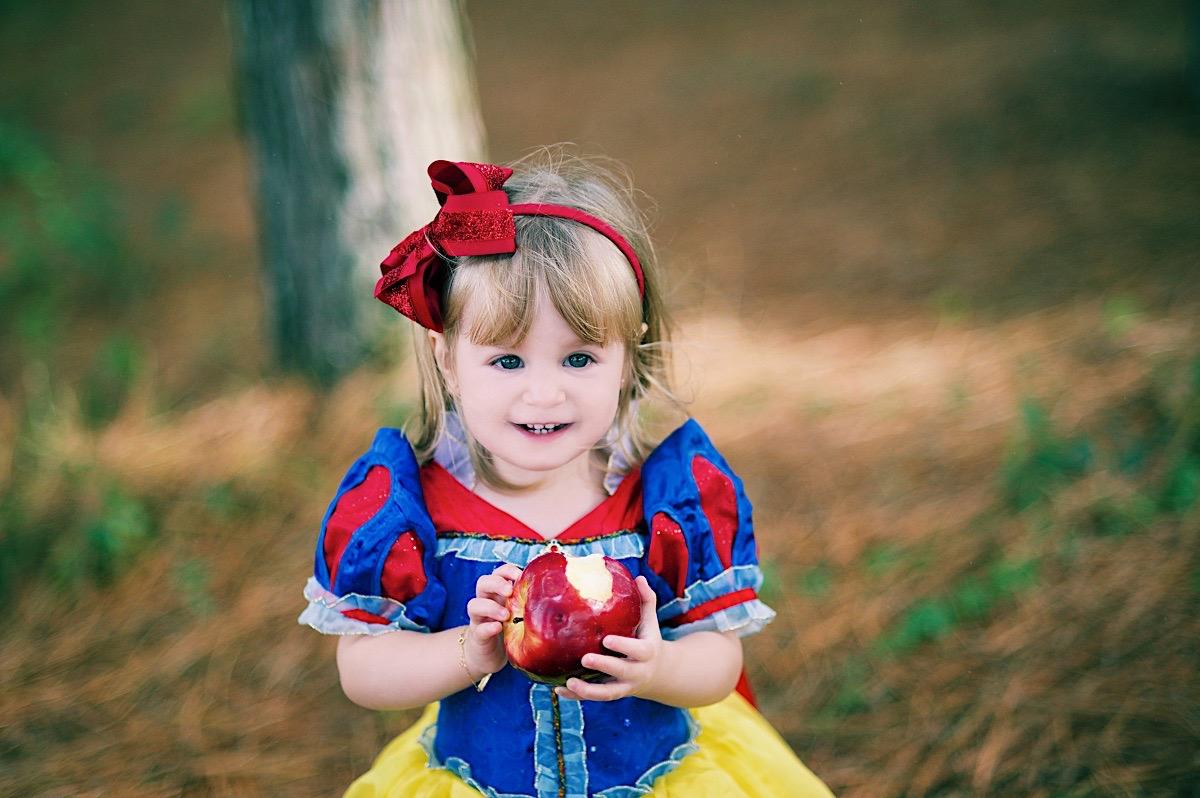 ensaio infantil - branca de neve - são bento do sul - chroma fotografia - fotógrafo são bento do sul