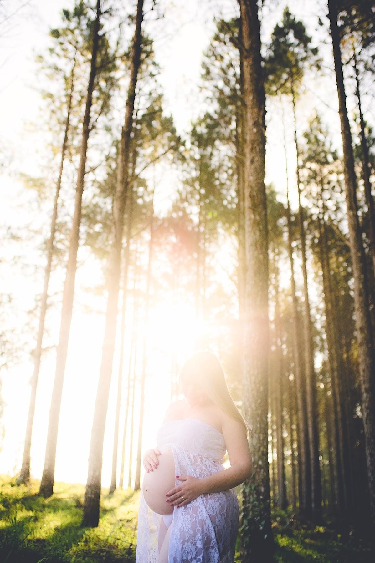 ensaio gestante - book gestante - são bento do sul - fotógrafo são bento do sul - chroma fotografia - pôr do sol