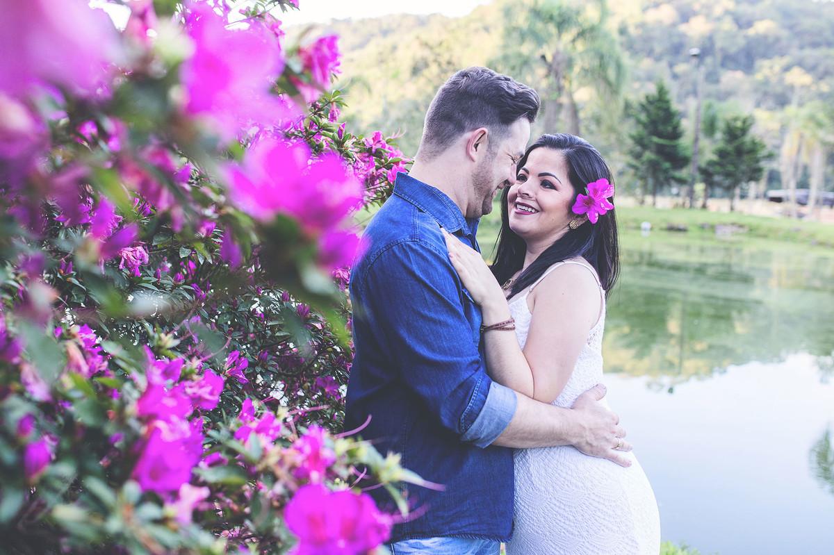ensaio pré casamento - Lucimar _ Jaison - Ensaio casal - fotografos de jaraguá do sul - ensaio na pousada rio manso - chroma fotografia