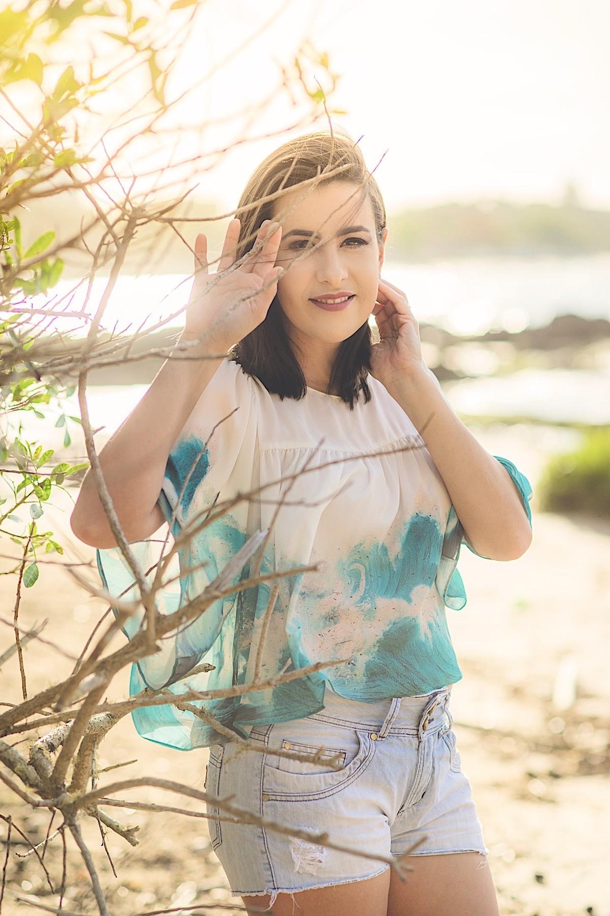 fabiana silva - chroma fotografia - ensaio na praia - book feminino - penha - sc
