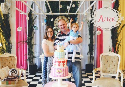 Aniversários de Alice - 1 Ano