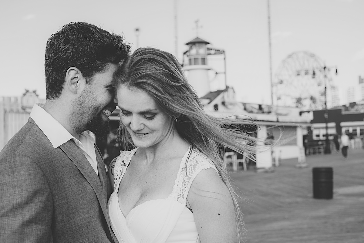 ensaio ny - couple session - coney island - bride and groom - ny - chroma fotografia