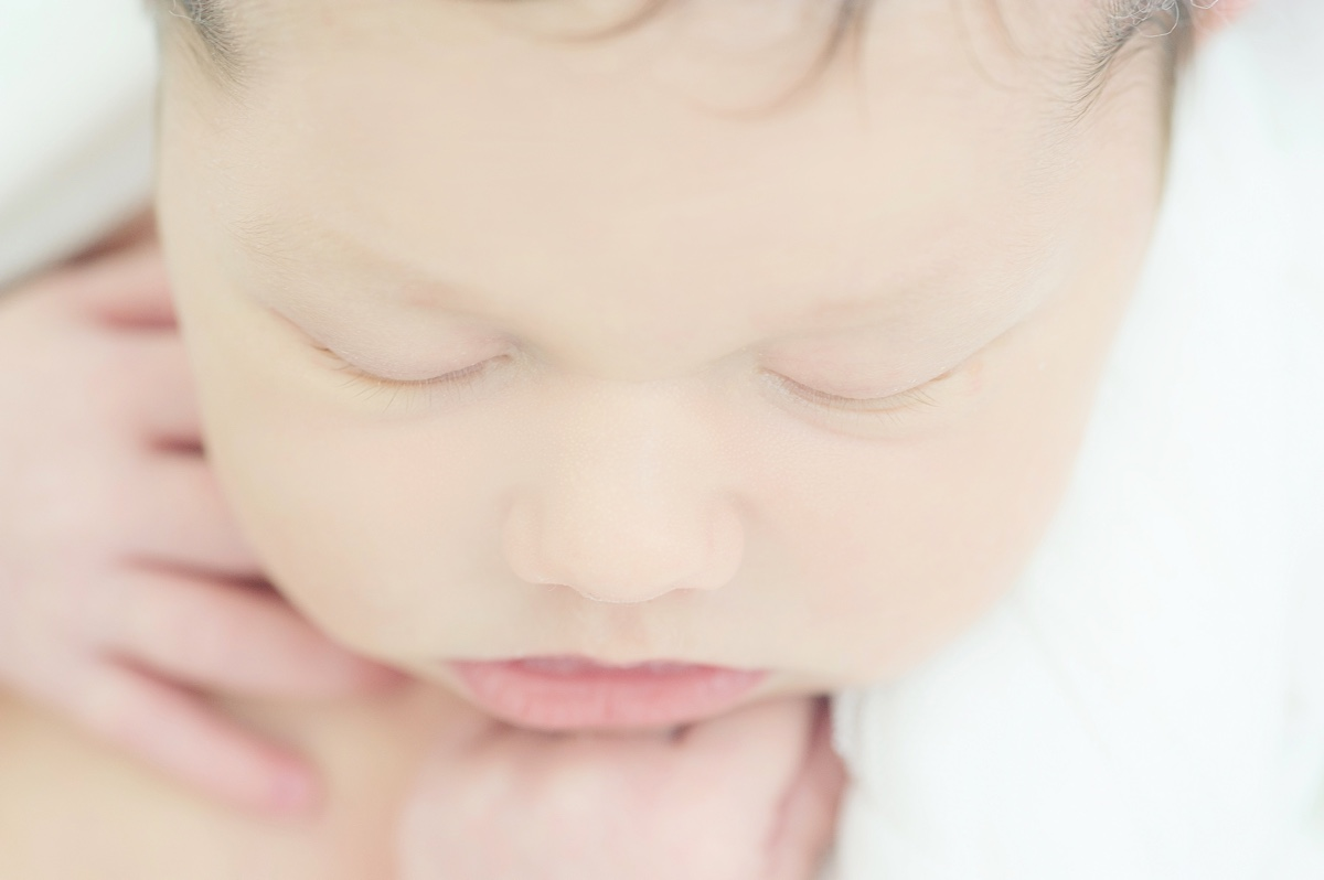 newborn - jaraguá do sul - maria paula - mae de menina - baby girl - recem nascido - chroma fotografia