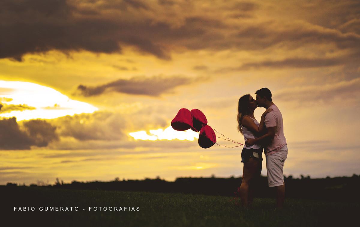 Foto de Vitor e Luana
