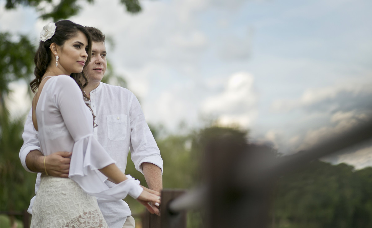 Foto de Renan e Flavia