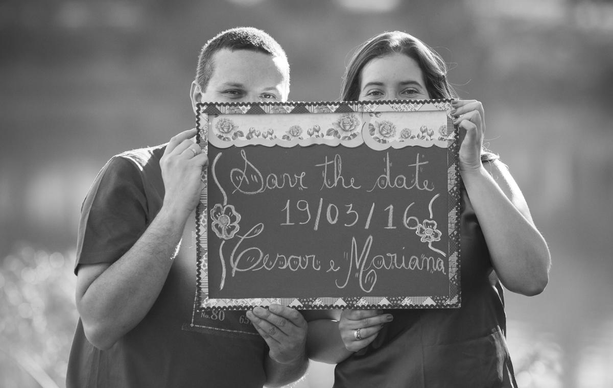 Foto de Cesar e Mariana