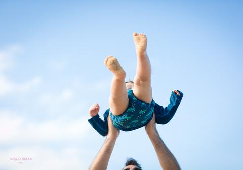 Life Style & Babies de Adriana, Michael e Lucas - Um dia na Praia!