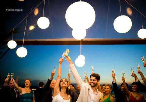 Casamentos SC de Casamento Carol & Dé | Na beira do mar