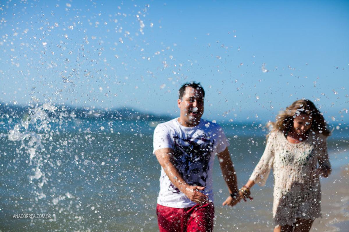 Ensaio Talyne e Marcos | Um dia de verão em Floripa