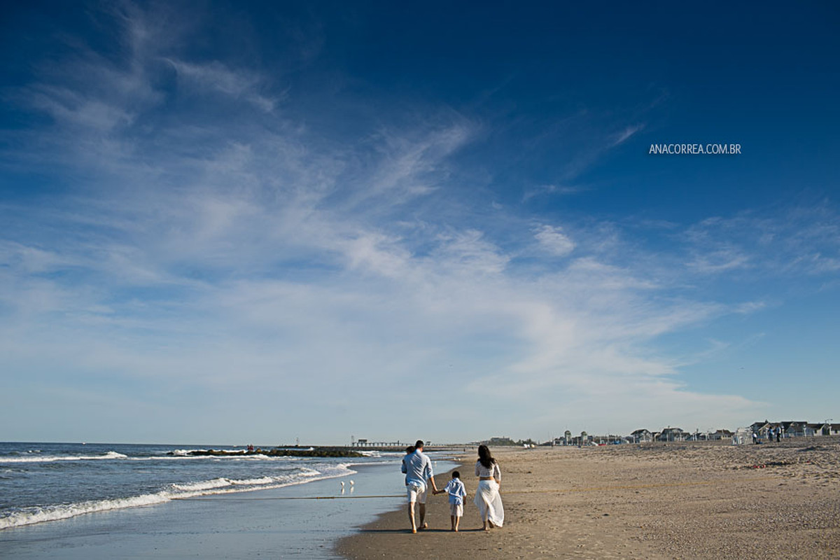 Um dia Familia, em Belmar Shore, New Jersey | USA